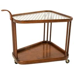 Mid-Century Modern Serving Trolley In The Style Of Cesare Lacca