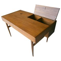 Important Frank Lloyd Wright Usonian Desk from the Levin House