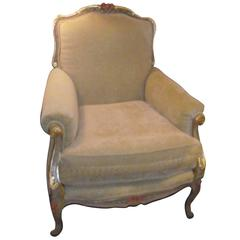 Arm Chair/ Napoleon III, French Style Chair, Original Design