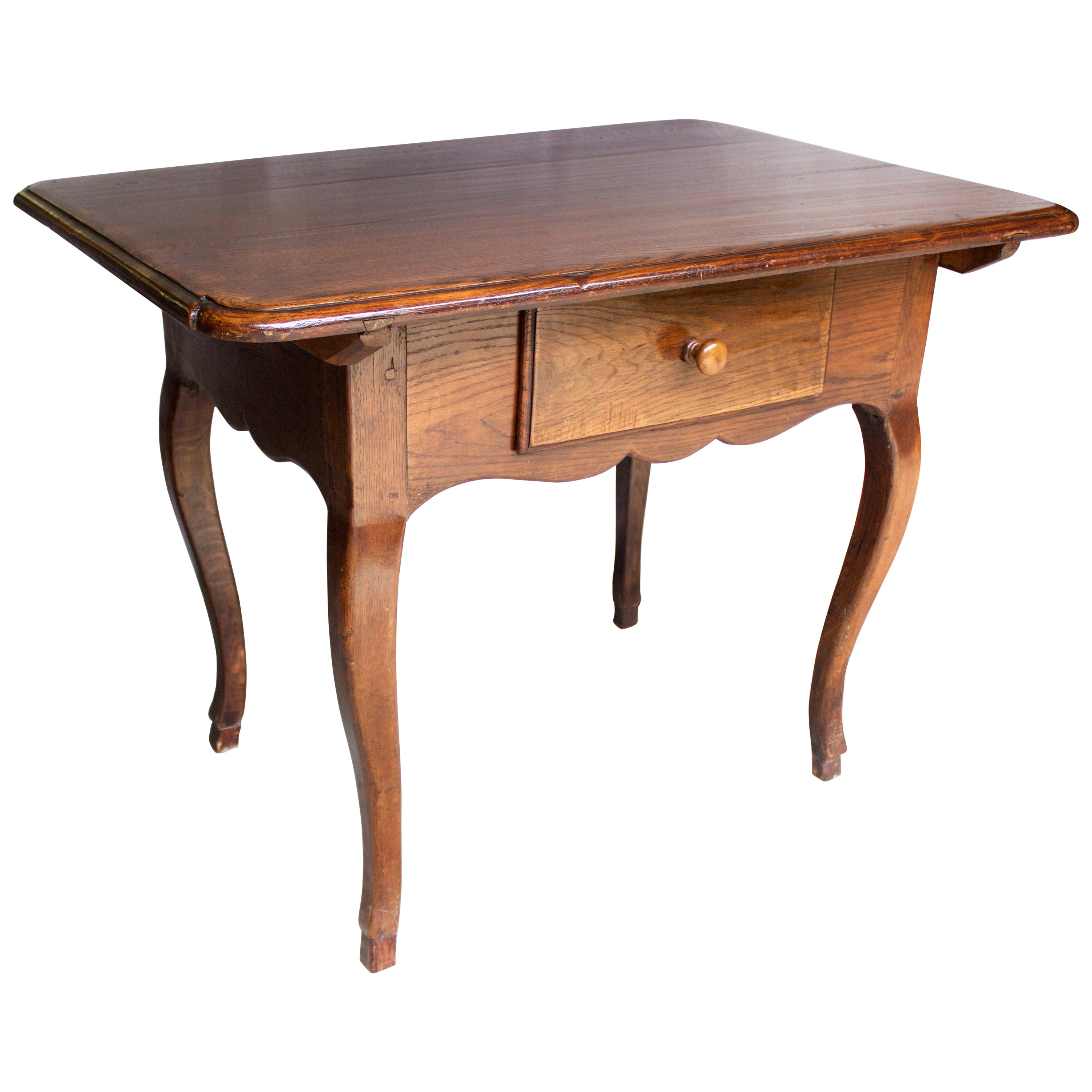 Louis XV French Chesnut Desk or Side Table