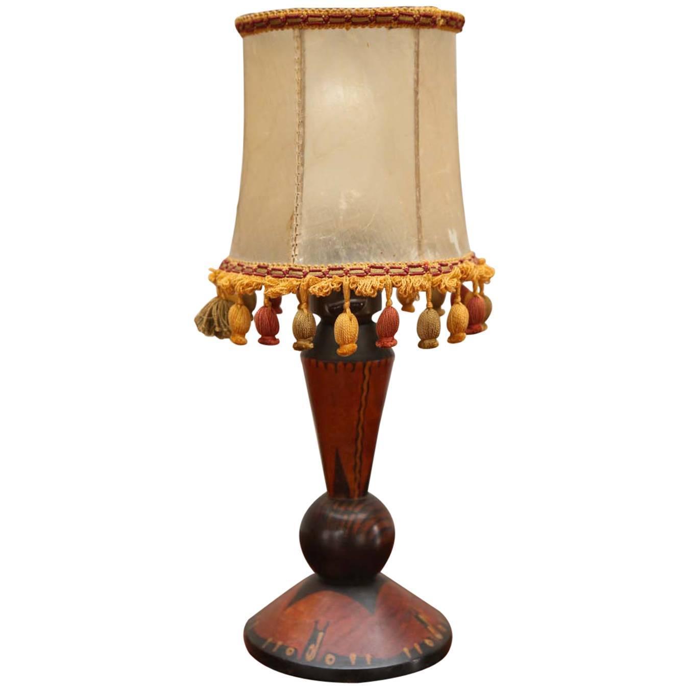 arts and crafts table lamp at 1stdibs. Black Bedroom Furniture Sets. Home Design Ideas