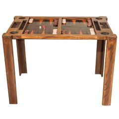 Vintage Backgammon Game Table