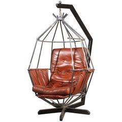 Vintage Ib Arberg Parrot Chair