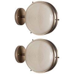 1960s Artemide Sconces in the Style of Studio BBPR