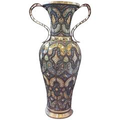 Antique Floor Vase