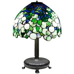 Tiffany Studios 'Snowball' Table Lamp