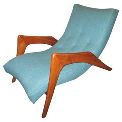 """Adrian Pearsall """"Grasshopper"""" Lounge Chair for Craft Associates"""