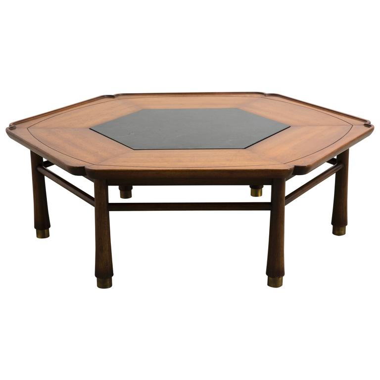 Hexagonal Coffee Table By Drexel Heritage, Circa 1968 At
