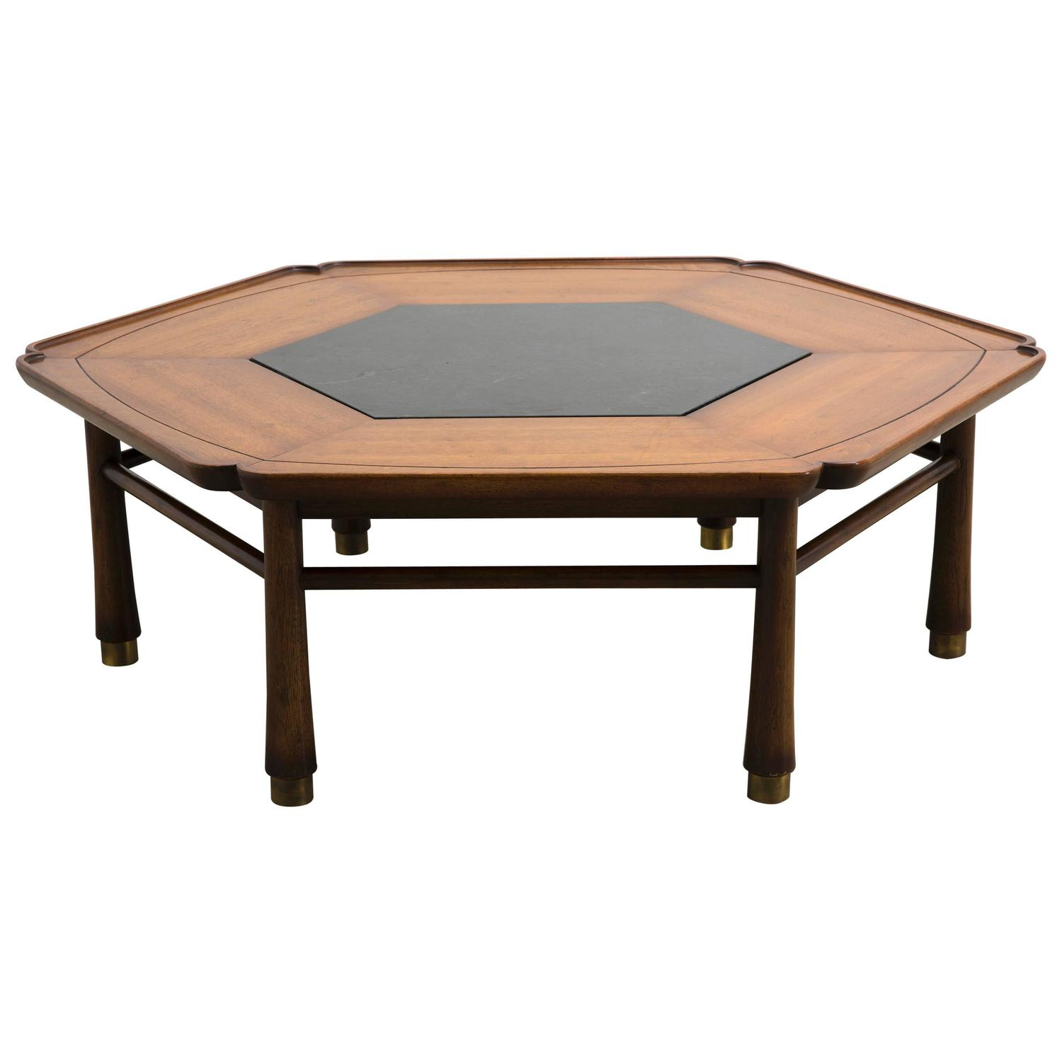 Hexagonal Coffee Table By Drexel Heritage Circa 1968 At 1stdibs