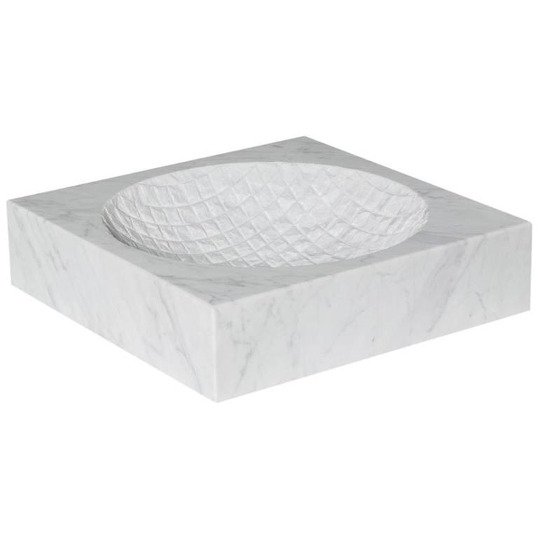 Lex Pott Fragments Marble Grid Bowl For Sale at 1stdibs : 3972093l from www.1stdibs.com size 768 x 768 jpeg 15kB