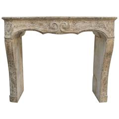 Antique Fireplace from Angers, France