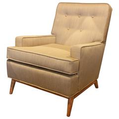 Robsjohn-Gibbings Lounge Chair in New Upholstery