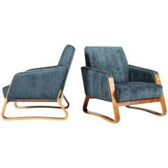 French Art Deco Armchairs