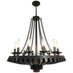 Foundry Pattern Chandelier