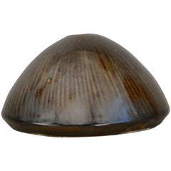 Toini Muona for Arabia High Gloss Glazed Stoneware Vase, 1950-1960s