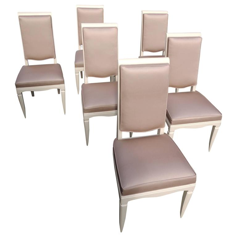 French Mid-Century Dining Chairs