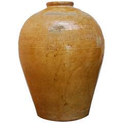 Japanese Artisan Pottery Vase