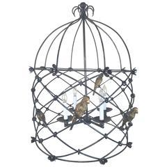 Sarreid Lantern with Birds
