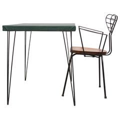 French Deco Desk and Chair Set