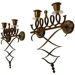Pair of Decorative Italian Wall Sconces