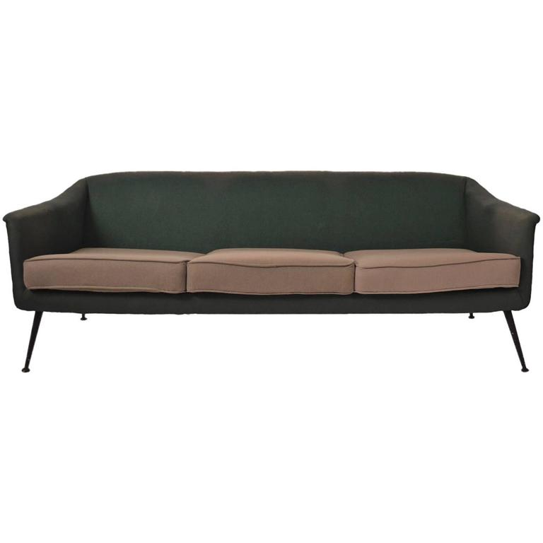 Atomic Style Mid-Century Modern Swedish Sofa