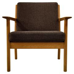 Rare Hans Wegner 1960s GE-265 Lounge Chair