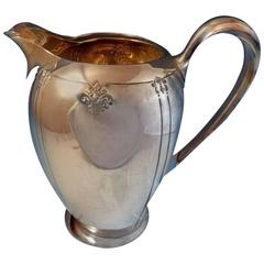 Sedan by International Sterling Silver Water Pitcher, #E14-1