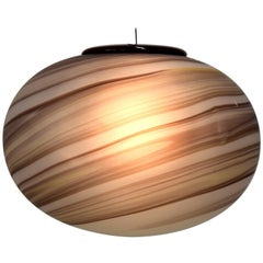 1970s Ceiling Lamp by VeArt, Venice, Italy