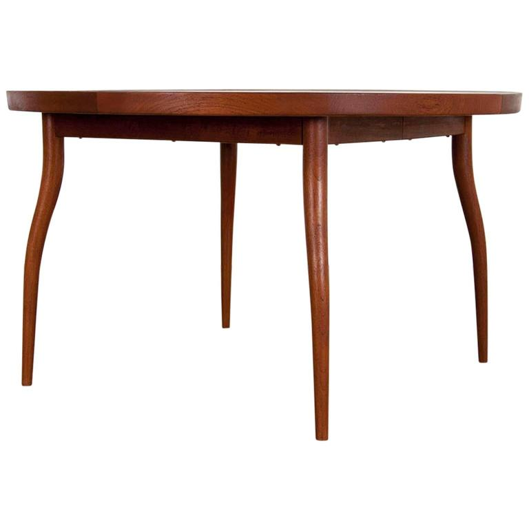 Teak Dining Table NV56 by Finn Juhl for Nils Vodder, 1956