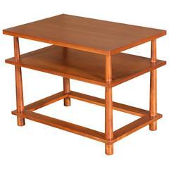 T.H. Robsjohn-Gibbings Three-Tier End or Side Table for Widdicomb