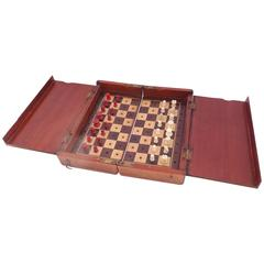 English Campaign Chess Set