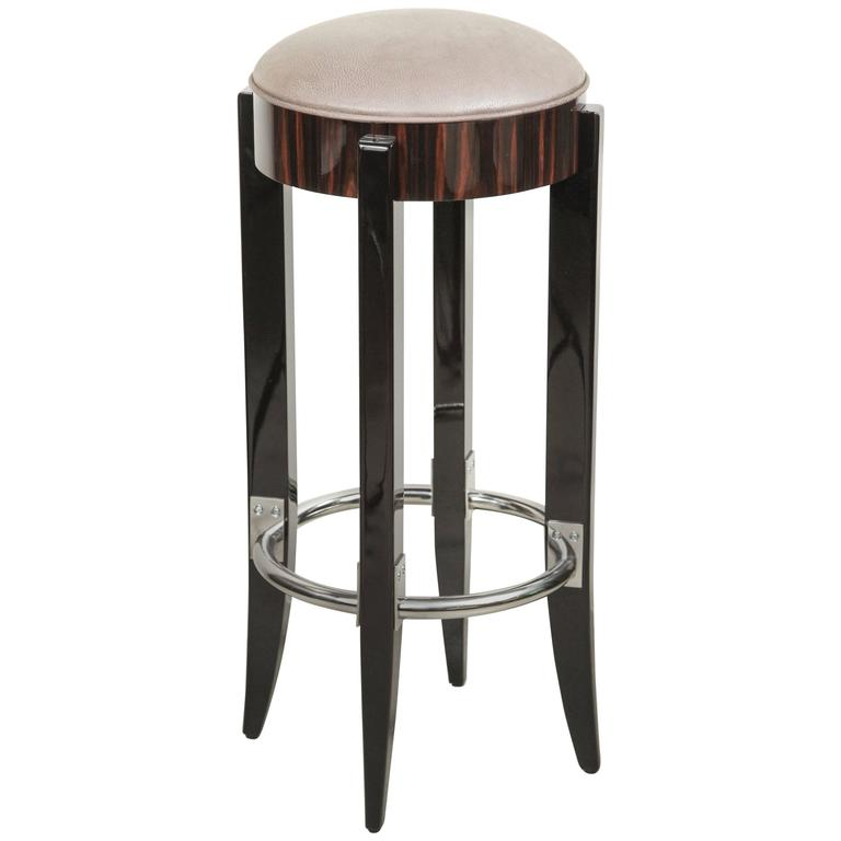 Art Deco Style Bar Stool At 1stdibs