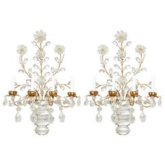 Pair of Four Light Wall Sconces
