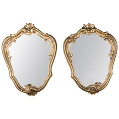 19th Century Pair of Mirrors