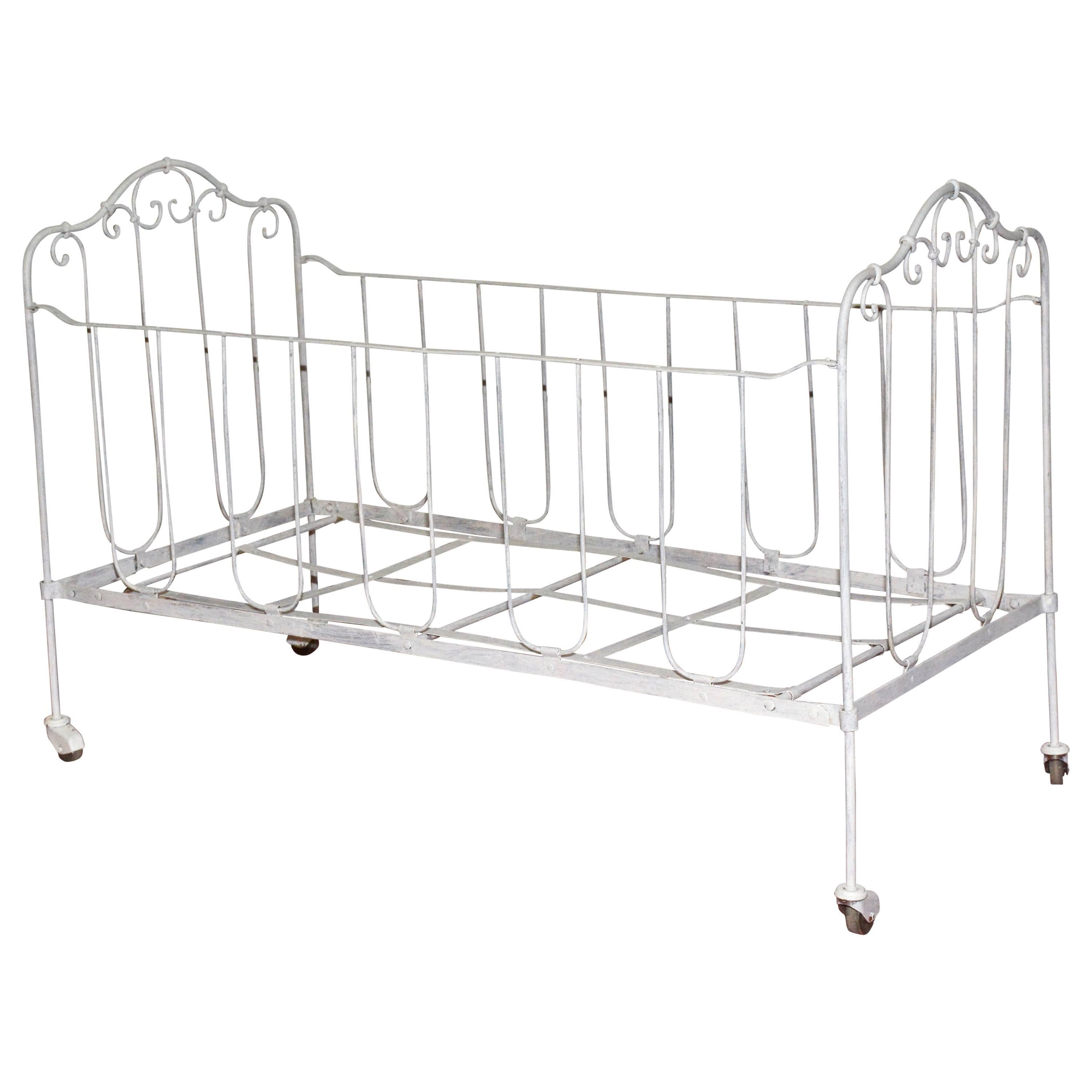 French Iron Baby Crib or Doggie Bed