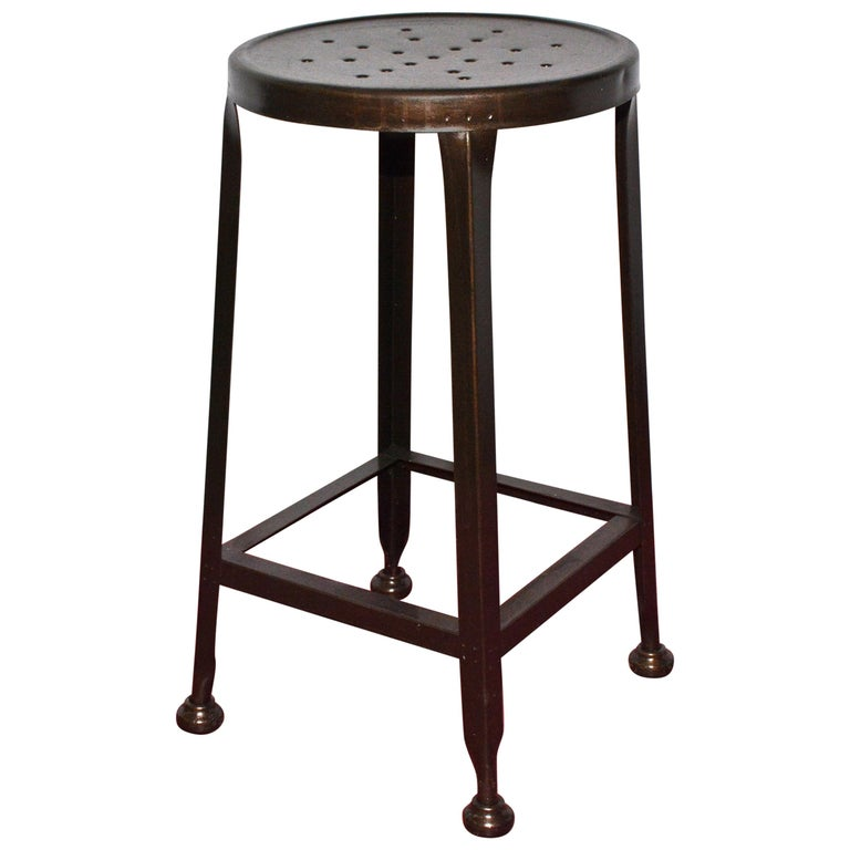 Terrific Industrial Metal Drafting Stool Machost Co Dining Chair Design Ideas Machostcouk