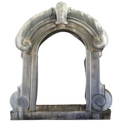 18th Century Large French Zinc Dormer