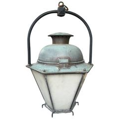 19th Century French Stable Lantern