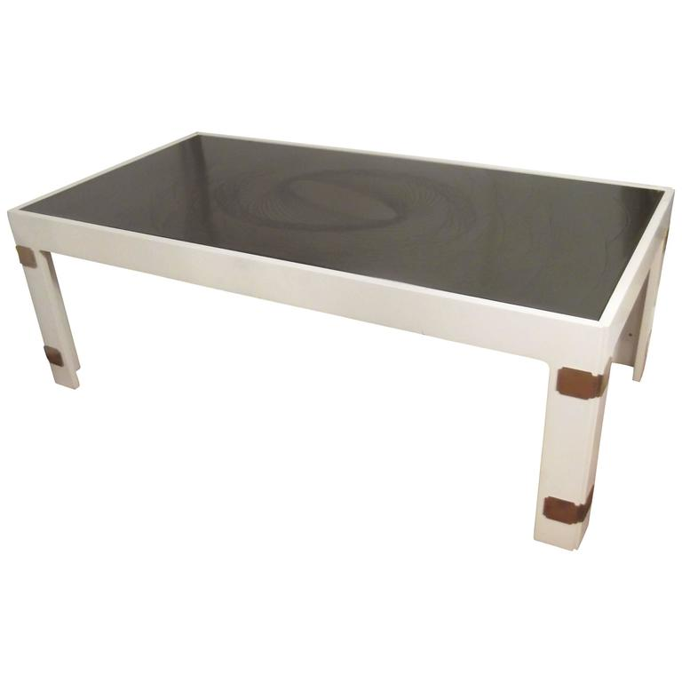 Nordiska kompaniet lacquered wood coffee table for sale at for Lacquered furniture