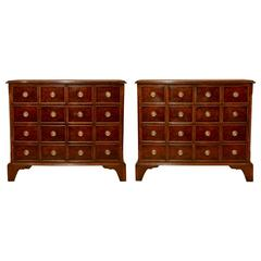 Pair of Apothecary Cabinets, circa 1900