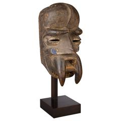 Early 20th Century Tribal Bete Mask