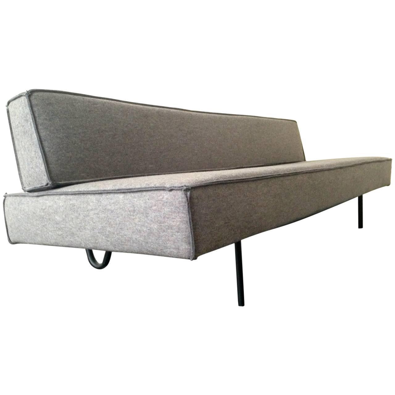 sofabed in the manner of ernst ambuehler at 1stdibs. Black Bedroom Furniture Sets. Home Design Ideas