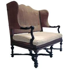 19th Century Corner Armchair For Sale At 1stdibs