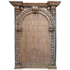 17th Century Portuguese Altar Frame