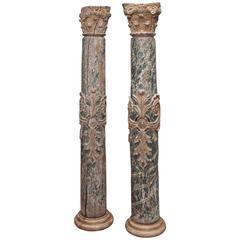 17th Century Portuguese Columns