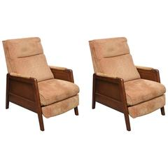 Pair of Lane Recliners, USA, 1970s