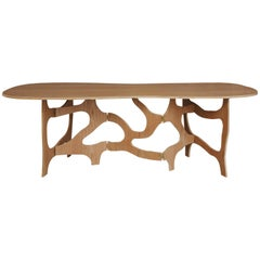 Sculpture Dining Table by Jacques Jarrige