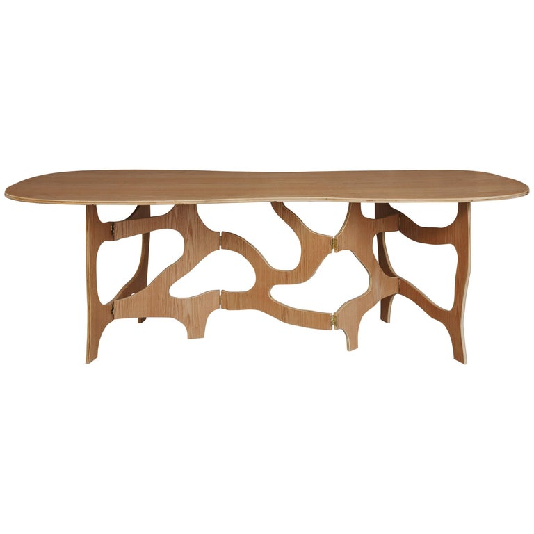 Sculpture Dining Table by Jacques Jarrige For Sale