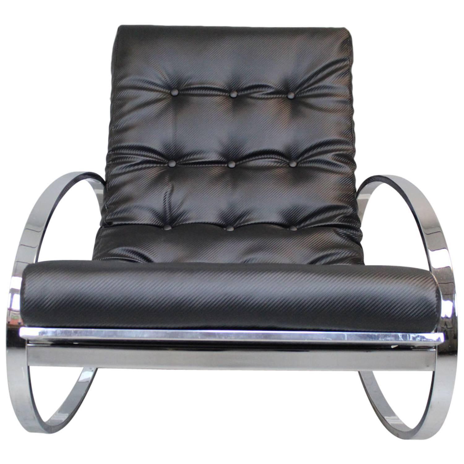 Chrome Rocking Chairs 39 For Sale at 1stdibs