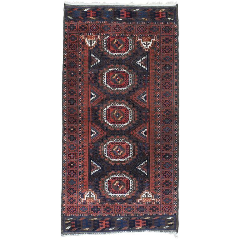 Fantastic Antique Baluch Rug
